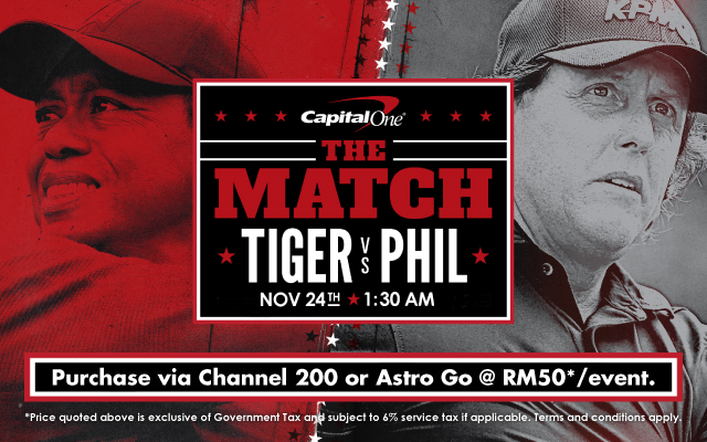 Tiger Woods & Phil Mickelson's winner-take-all $9mil match